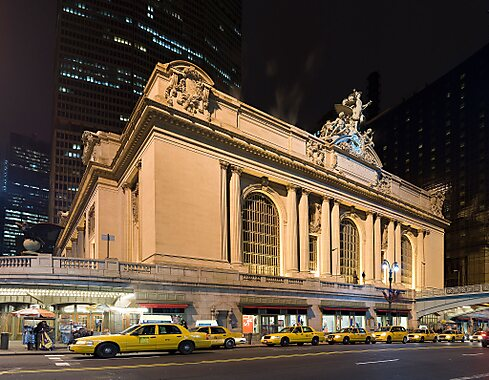 Display board near the entrance from Vanderbilt Hall ...  |Attractions Near Grand Central Station