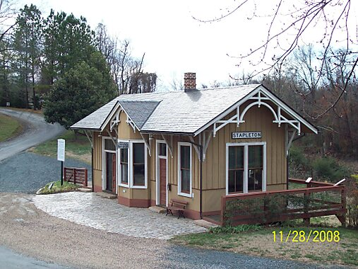 Madison Heights (VA) United States  city photos gallery : Station House Museum, Old City Cemetery, Lynchburg VA, November 2008