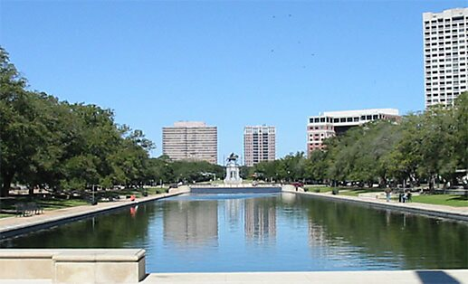 Hermann Park in Houston, United States