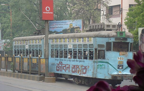 Kolkata Trams in Calcutta, India