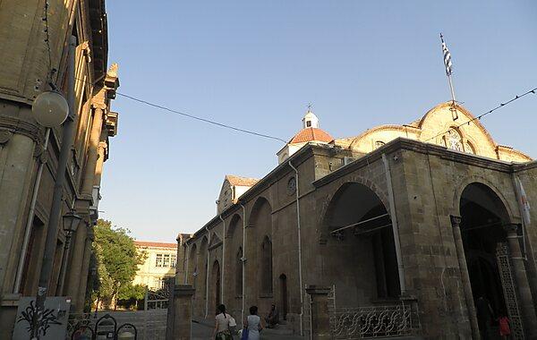Faneromeni Church in Larnaca, Cyprus