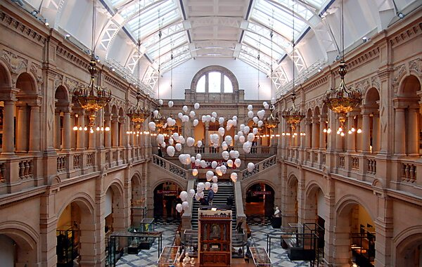 Kelvingrove Art Gallery and Museum KelvingroveHangingHeads