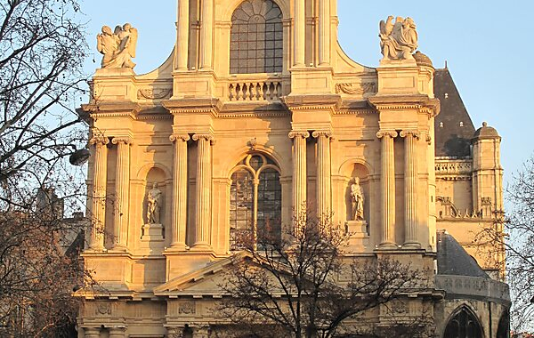St-Gervais-et-St-Protais Church in Paris, France