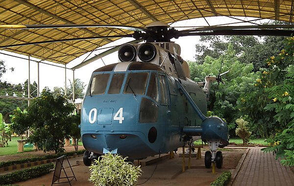 Hal Aerospace Museum Westland Sea King MK 42 at HAL Museum 7725