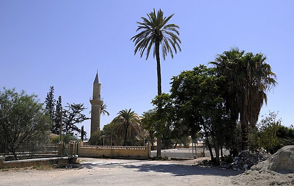 Mosque of Umm Haram in Larnaca, Cyprus