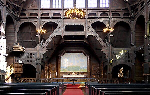 Kiruna Church in Kiruna, Sweden