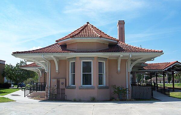 Palatka Historic Union Depot in United States