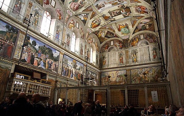 Sistine Chapel Sistine Chapel North and East Walls