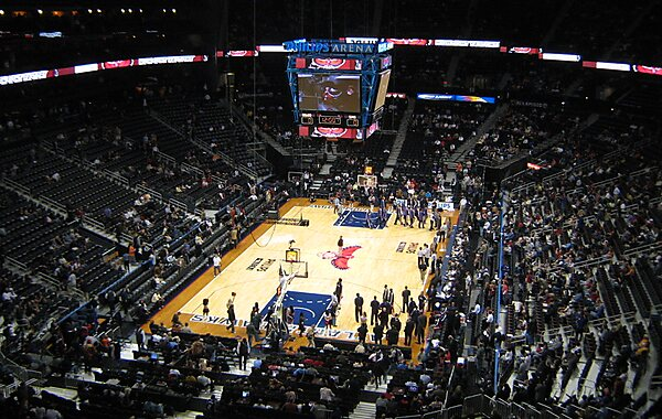Philips Arena Philips Arena basketball