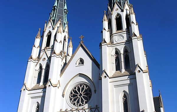 Cathedral of St. John the Baptist in Savannah, United States