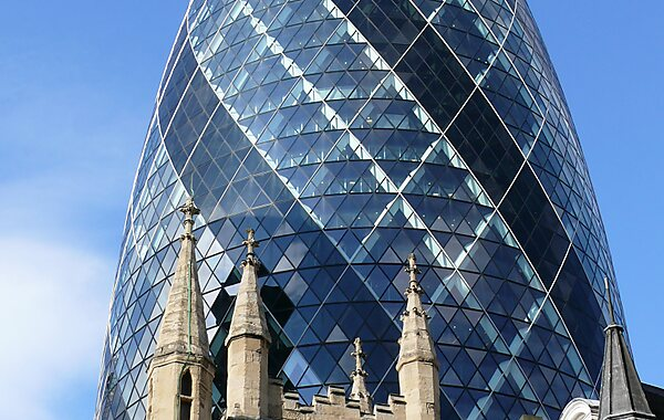 30 St Mary Axe 30 St Mary Axe %28The Gherkin of London%29