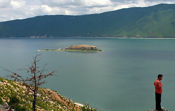Ethnikó Párko Prespón Lake Prespa Albania