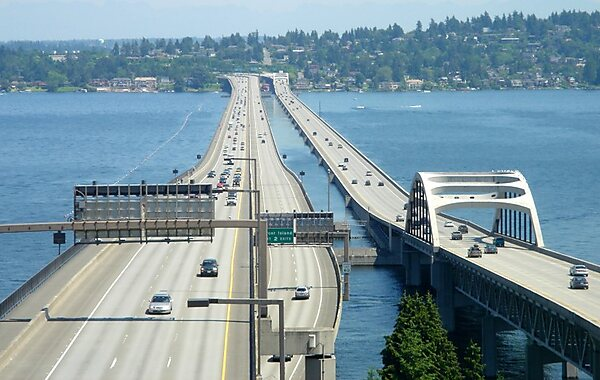 Hadley (MA) United States  city images : Homer M. Hadley Memorial Bridge in Seattle, United States