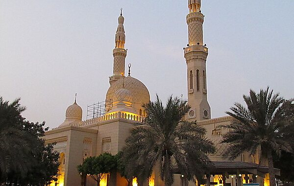 Jumeirah Mosque in Dubai, United Arab Emirates