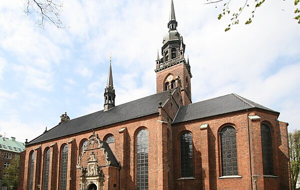 Church of the Holy Ghost in Copenhagen, Denmark