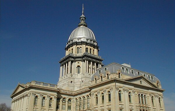 Illinois State Capitol  Springfield  Tripomatic