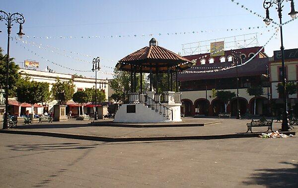 Garibaldi Square in Mexico City, Mexico