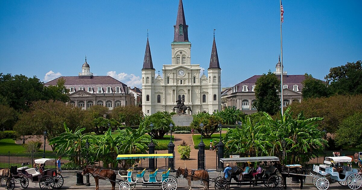 Map of new orleans attractions sygic travel for What to do in new orleans louisiana