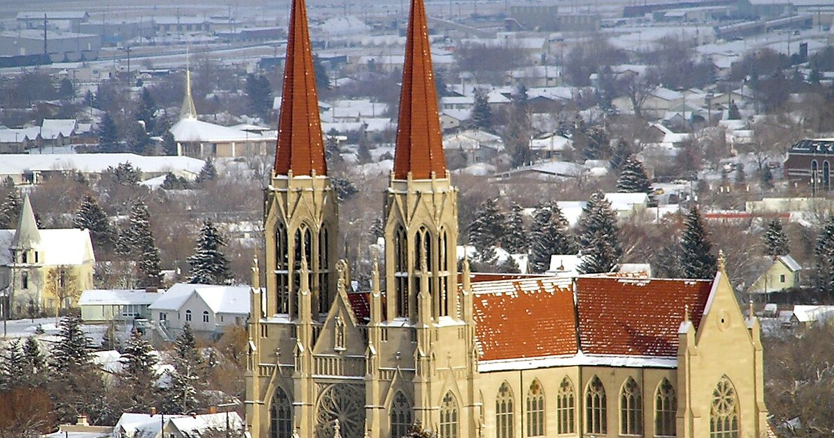 Helena (MT) United States  City pictures : Cathedral of St. Helena – Helena | Tripomatic