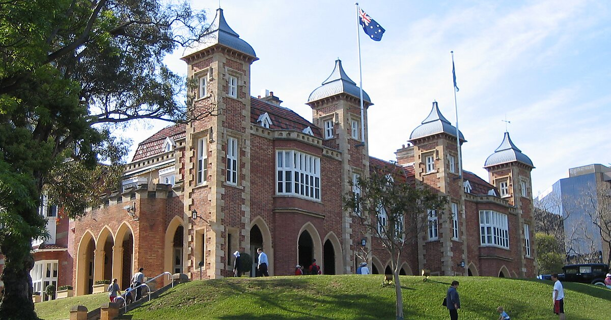 Government house perth tripomatic for 105 st georges terrace