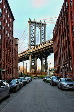 Brooklyn bridge new york sygic travel for Attractions near new york city