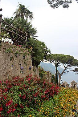 Villa rufolo campania sygic travel for Jardin villa rufolo