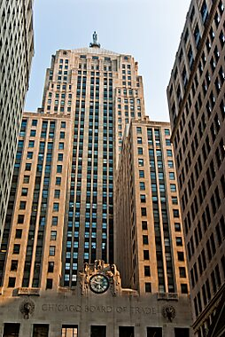 chicago board of trade building chicago tripomatic. Black Bedroom Furniture Sets. Home Design Ideas