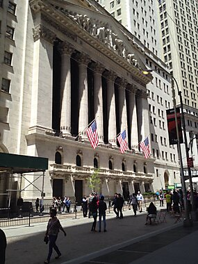 Wall street new york tripomatic for Attractions near new york city