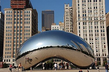 Cloud Gate in Chicago, United States