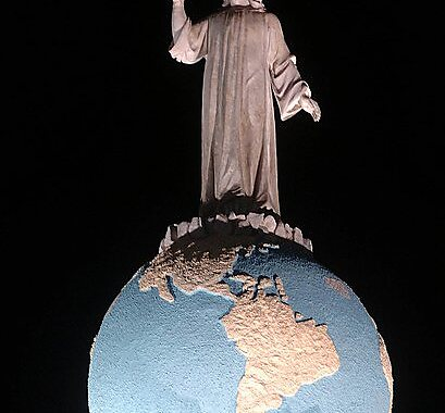 Monument to the Savior of the World in San Salvador, El Salvador