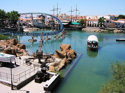 Portaventura World in Tarragona, Spain