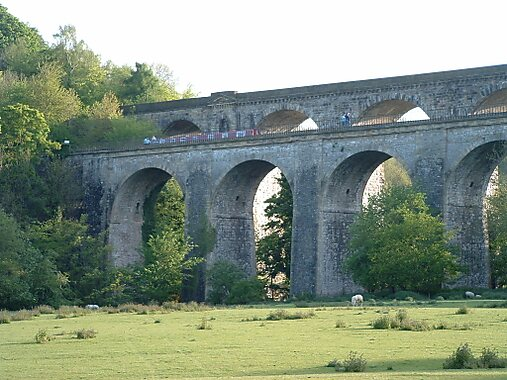 Chirk United Kingdom  city pictures gallery : Chirk Aqueduct in United Kingdom