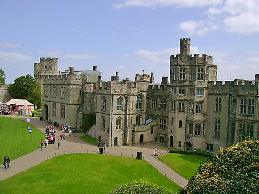 Warwick United Kingdom  city pictures gallery : Warwick Castle in Royal Leamington Spa, United Kingdom