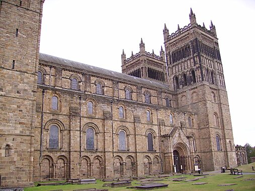 Durham United Kingdom  City new picture : View of Durham Cathedral castle in Durham, United Kingdom