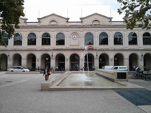 N U00eemes Railway Station  U2013 Nimes