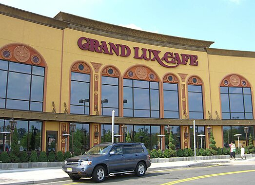 Grand Lux Cafe Brand