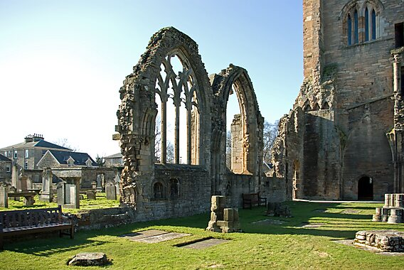 Elgin United Kingdom  city images : Elgin Cathedral in United Kingdom