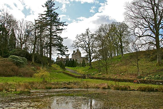 Balloch United Kingdom  City new picture : Balloch Castle in United Kingdom