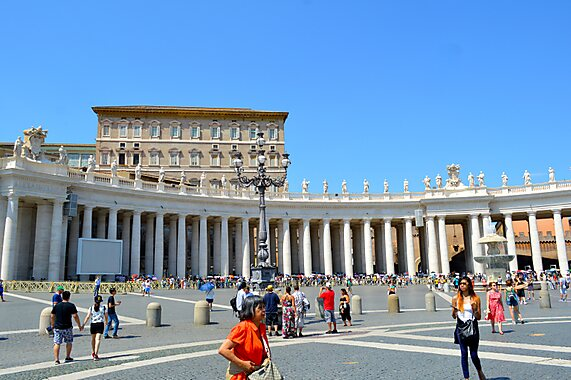 St. Peter's Square – Rome  Tripomatic