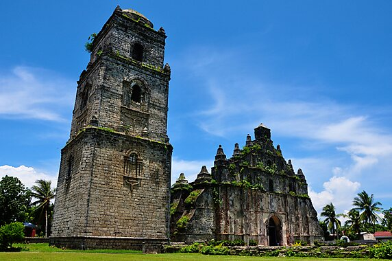Batac Philippines  city images : Paoay Church in Batac City, Philippines