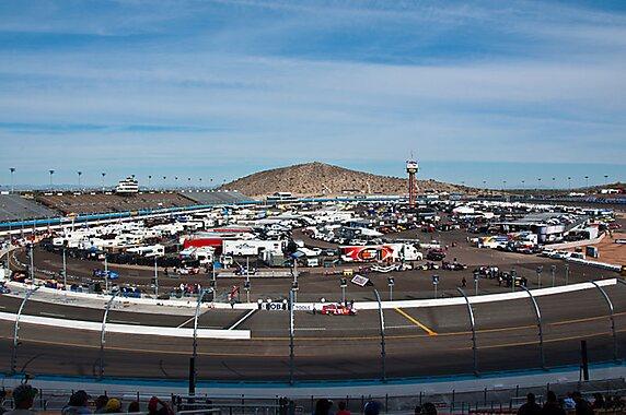 Avondale (AZ) United States  City new picture : The Phoenix International Raceway on November 10, 2011. The initial ...