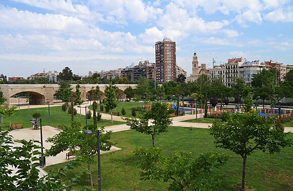 Gardens of turia valencia sygic travel for Jardines de turia
