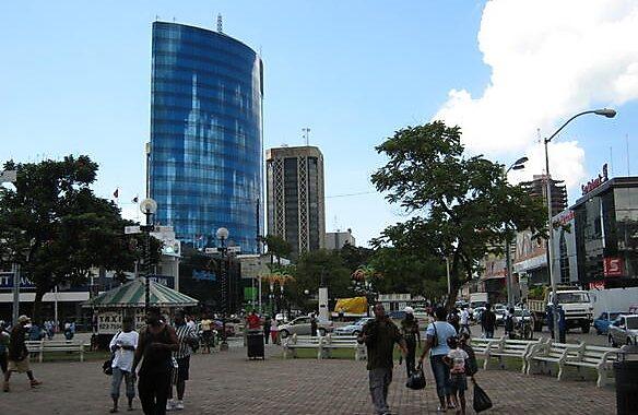 Brian Lara Promenade in Port of Spain, Trinidad and Tobago