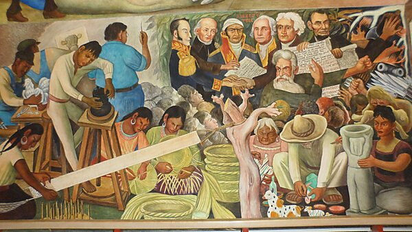 Diego rivera mural san francisco sygic travel for Diego rivera mural in san francisco