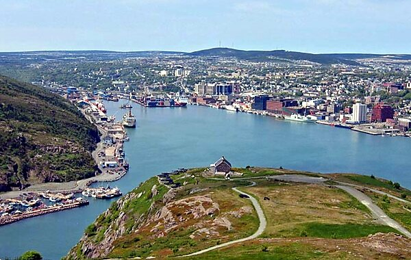Cabot Tower in St. John's, Canada