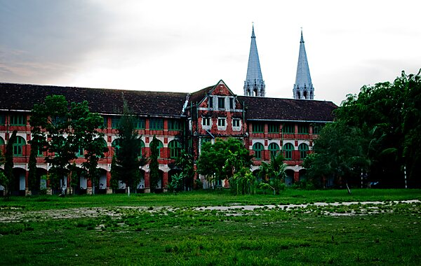 St. Paul's English High School in Yangon, Myanmar