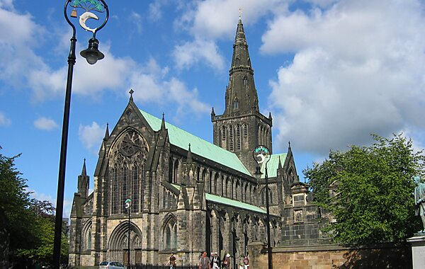 Glasgow Cathedral in Glasgow, United Kingdom
