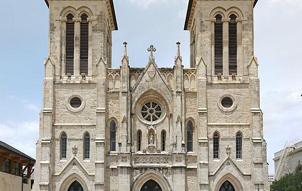 San Fernando De Bexar Cathedral in San Antonio, United States