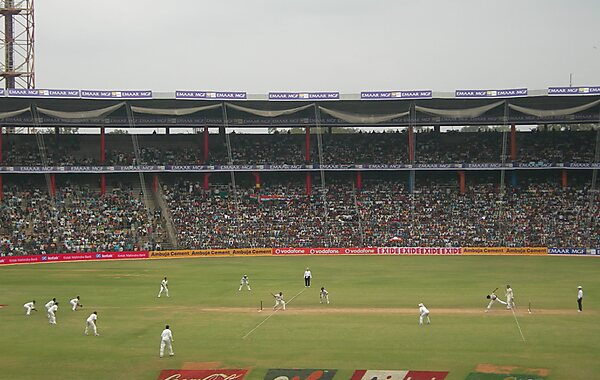M. Chinnaswamy Stadium in Bangalore, India