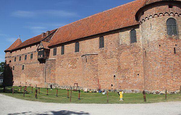 Nyborg Castle in Denmark